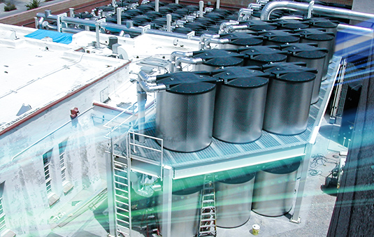 thermal energy storage, CALMAC, ice tanks