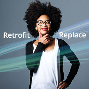 Retrofit, Replace