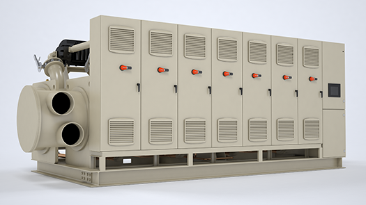 Water-Cooled Oil-Free Magnetic Bearing Chillers by Arctic